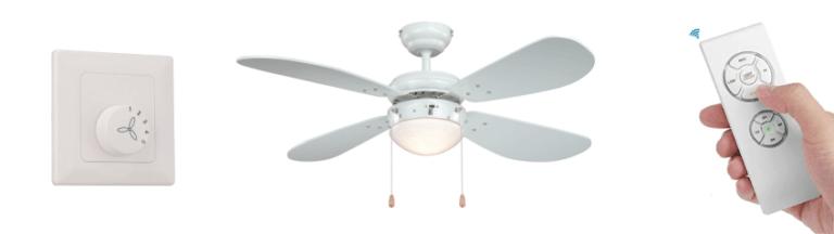 Tipos Encendido ventilador techo