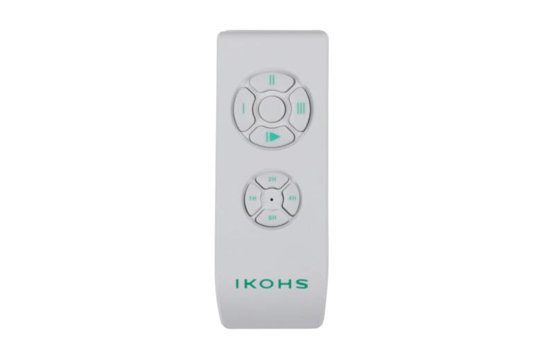 Ventilador Techo Ikohs con Mando a distancia, Minimalista, elegante y sofisticado