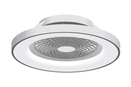ventilador de techo sin aspas dc, LED y wifi