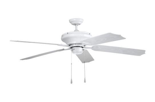 ventilador de techo exterior ip44 silencioso blanco